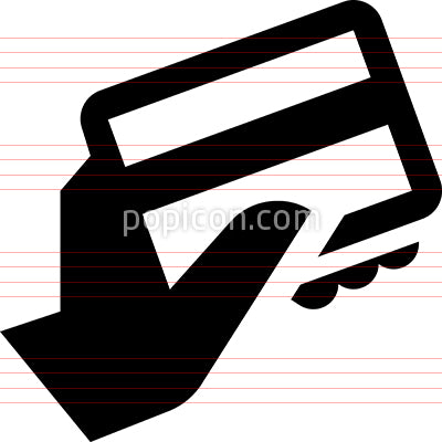 Credit Card Purchase Vector Icon