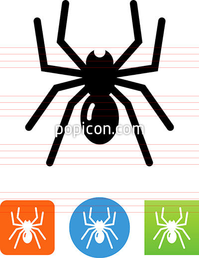 Creepy Spider Icon