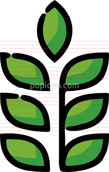 Crops Farming Hand Drawn Icon