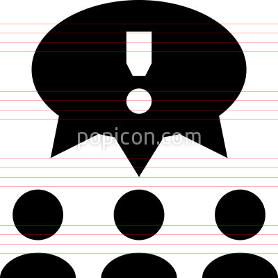 Crowd Consensus Vector Icon
