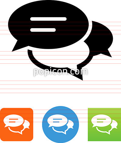 Crowded Conversation Icon