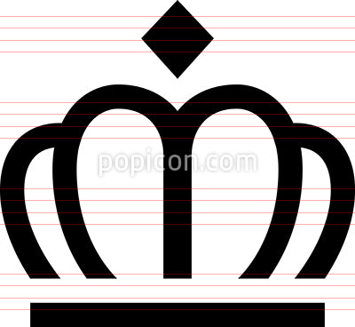 Crown Royalty Premium Best Icon