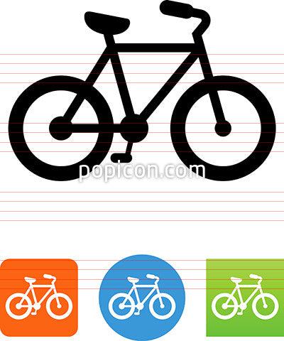 Cruiser Bike Icon