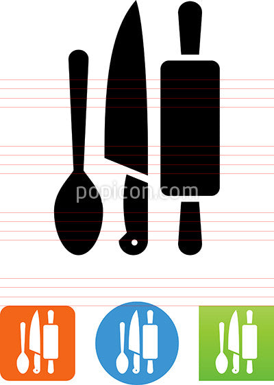 Culinary Arts Tools Icon