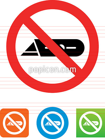 Cutting Prohibited Icon