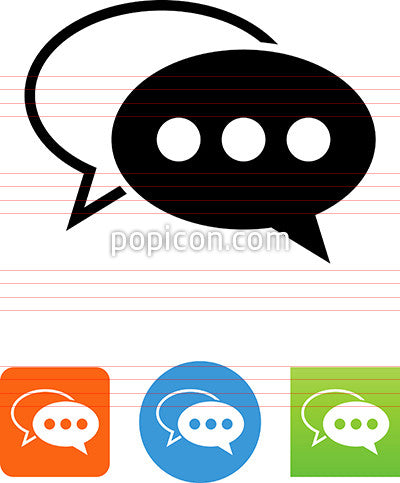 Dialogue Bubbles Icon