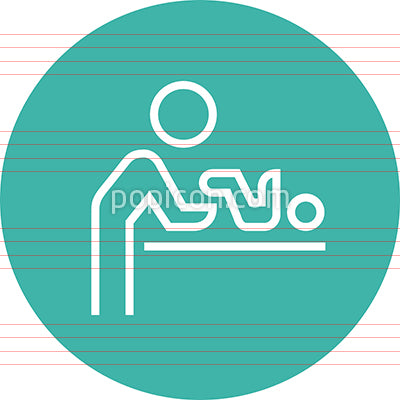 Diaper Changing Room Outline Icon