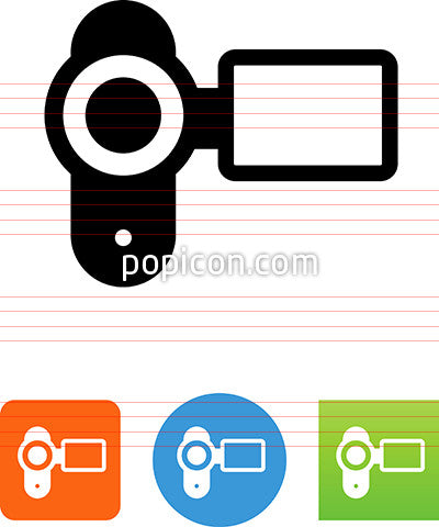 Digital Video Camera Icon