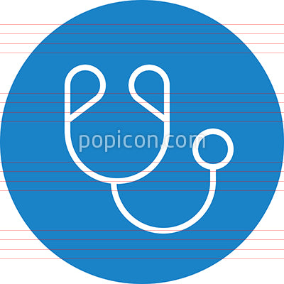 Doctor Physician Stethoscope Outline Icon