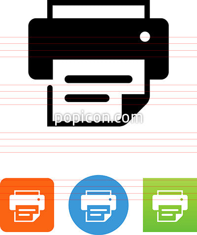Document Printer Icon