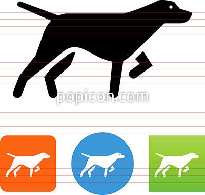 Dog Pointer Icon