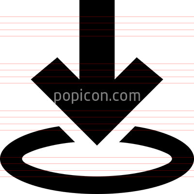 Download Arrow Circle Vector Icon