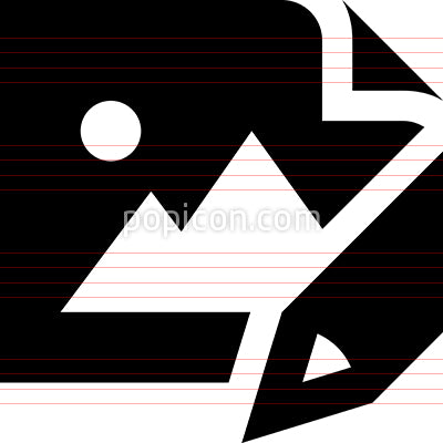 Draw Picture Vector Icon