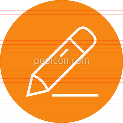 Drawing Pencil Write Outline Icon