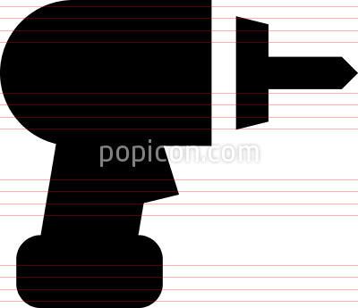 Drill Power Tool Vector Icon