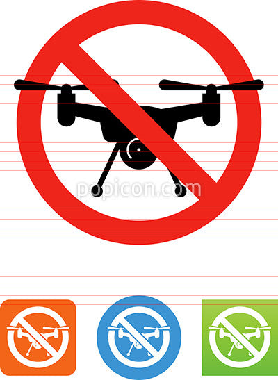 Drones Prohibited Icon