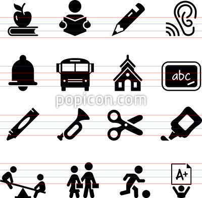 Early Learning Icons