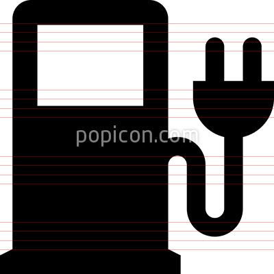 Electric Pump Vector Icon