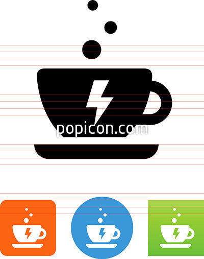 Energized Coffee Icon