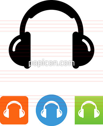 Entertainment Headphones Icon