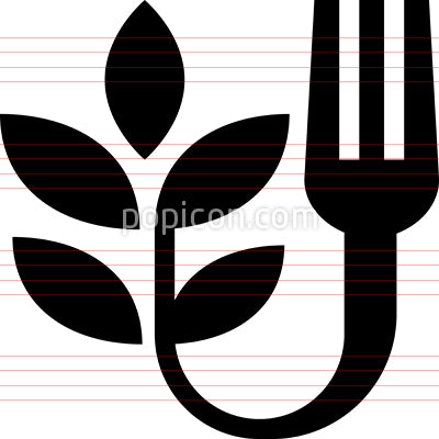 Farm To Fork Vector Icon