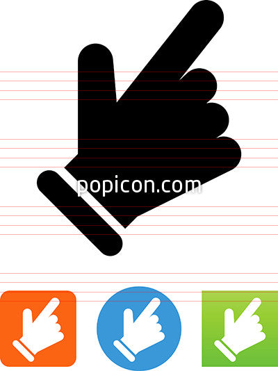 Finger Making Selection Icon