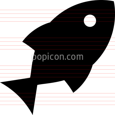 Fish Seafood Fishing Vector Icon