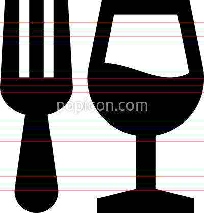 Food Drink Vector Icon
