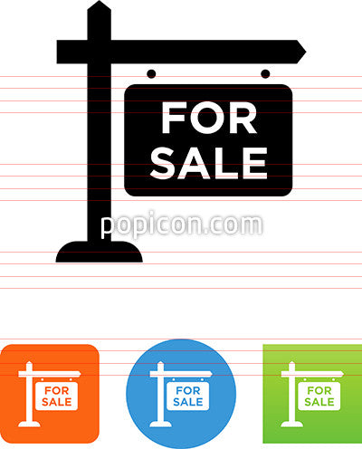 For Sale Sign Icon