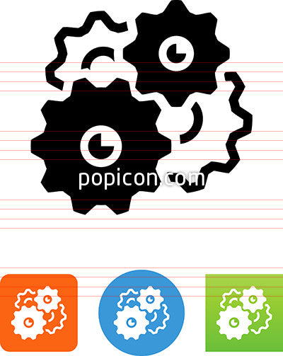 Four Gears Icon