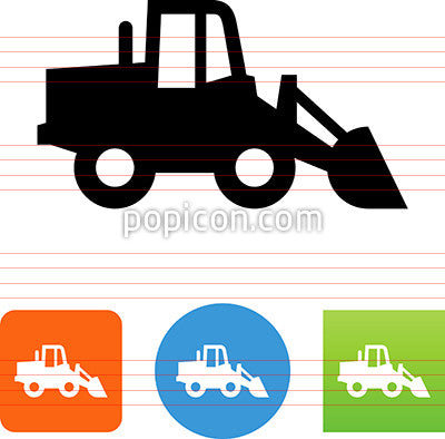 Front End Loader Icon