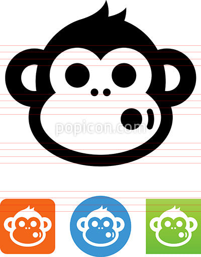 Funny Monkey Icon