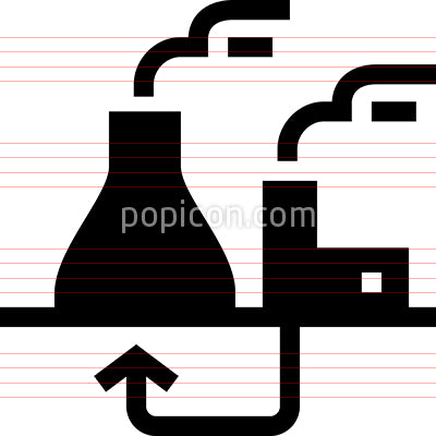 GeoThermal Energy Vector Icon