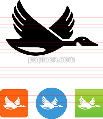 Goose Flying Icon