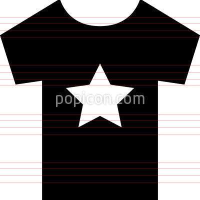 Graphic Tee Vector Icon