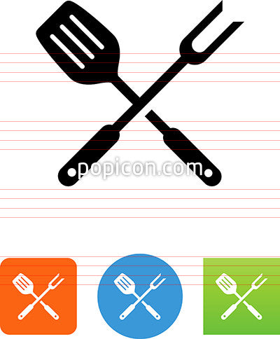 Grilling Tools Icon