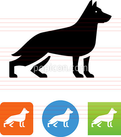 Guard Dog Icon