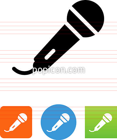 Hand Microphone Icon