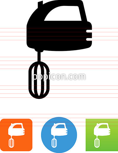 Hand Mixer Icon