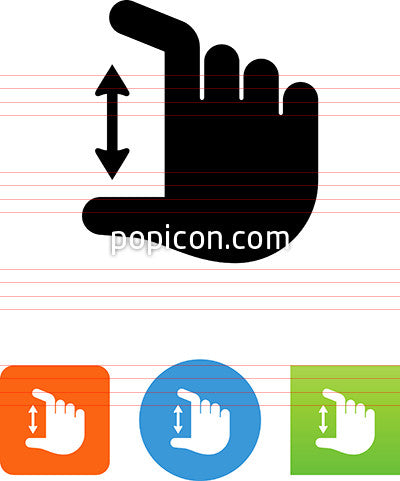 Hand Pinching Icon
