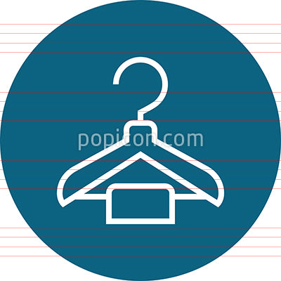 Hanger Closet Clothing Outline Icon