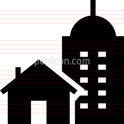 Home And Work Vector Icon