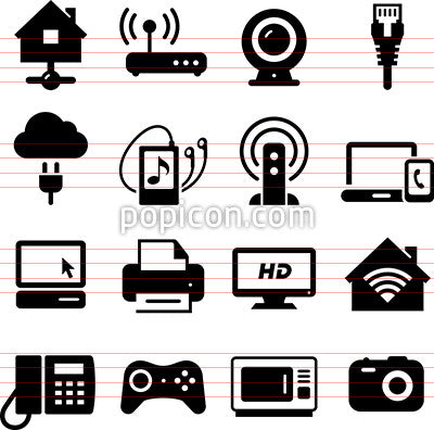 Home Networking Icons