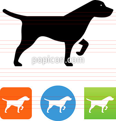 Hunting Dog Icon