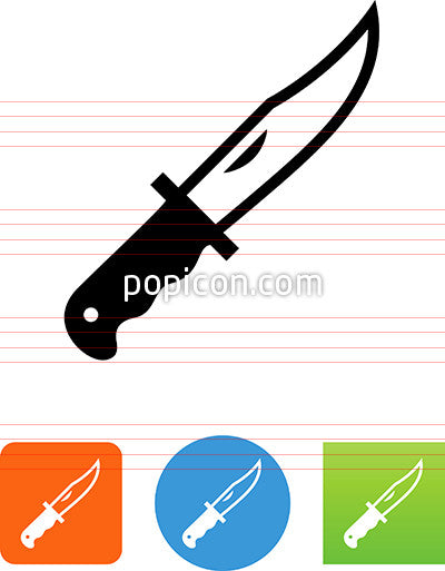Hunting Knife Icon