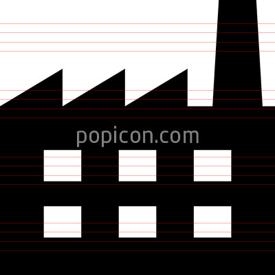 Industry Factory Vector Icon