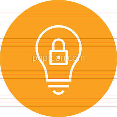 Intellectual Property Rights Outline Icon