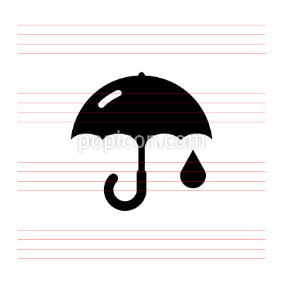 Keep Dry - Pixel Perfect Icon
