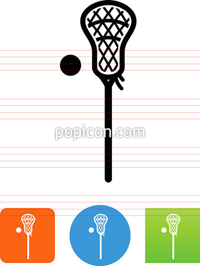 Lacrosse Stick Icon