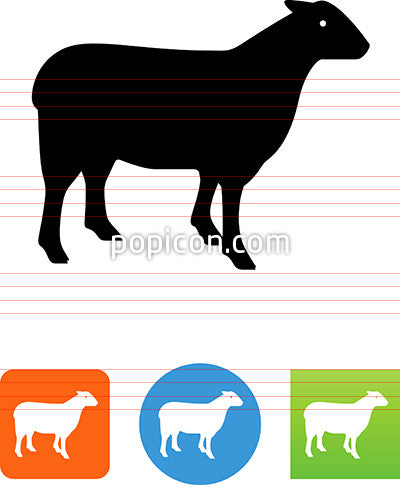 Lamb Or Mutton Icon